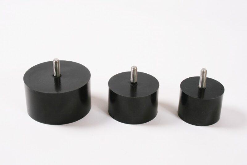 Adapter voor vaste knop (niet roterend) 3 stuks