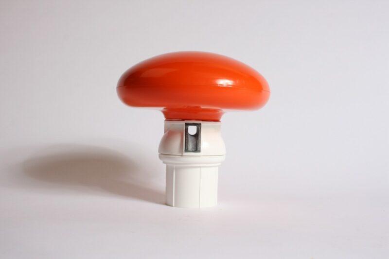 Mastknop oranje, roterend