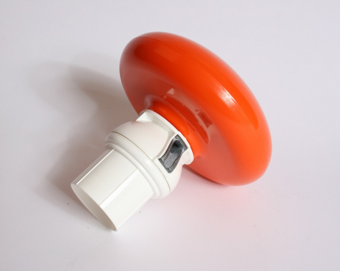 Mastknop oranje, roterend + adapter