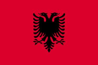 Albanie vlag