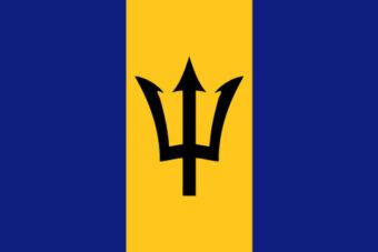Barbados vlag