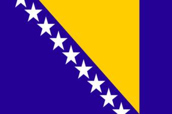 Bosnie en Herzegovina vlag