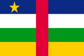 Centraal Afrika vlag