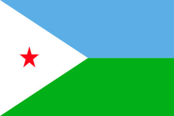 Djibouti vlag