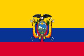 Ecuador vlag