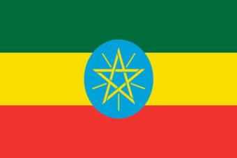 Ethiopie vlag