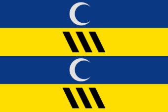 Gemeente Ameland vlag