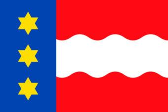 Gemeente Dongeradeel vlag