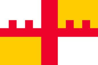 Gemeente Grootegast vlag