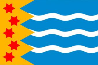 Gemeente Oldambt vlag