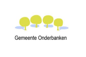 Gemeente Onderbanken vlag