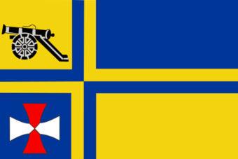 Gemeente Twedde vlag