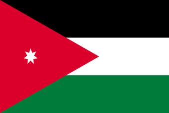Jordanie vlag