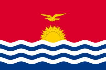 Kiribatie vlag