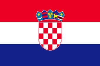 Kroatie vlag