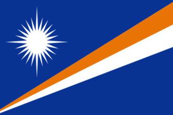 Marchall eilanden vlag