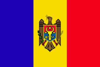 Moldavie vlag