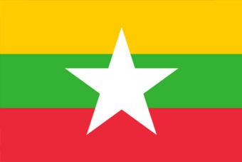 Myanmar vlag