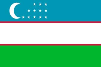 Oezbekistan vlag