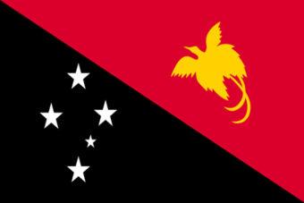 Papoea-nieuw-guinea vlag