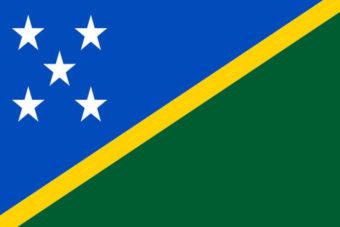 Salamon eilanden vlag