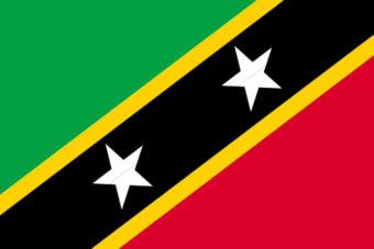 Sint Kitts en Nevis vlag