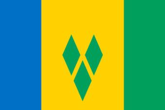 Sint Vincent en de Grenadines vlag