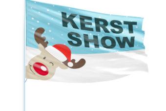 Kerstshow vlag
