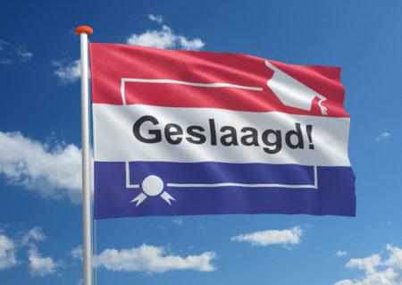 Geslaagd vlag