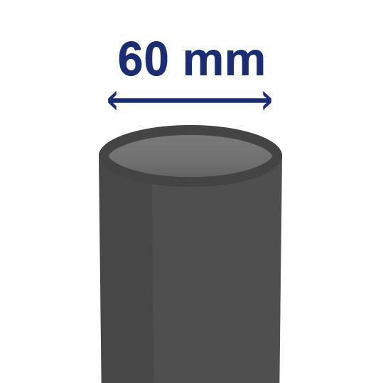 60 mm inwendig