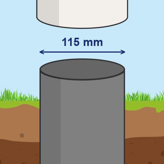 115 mm