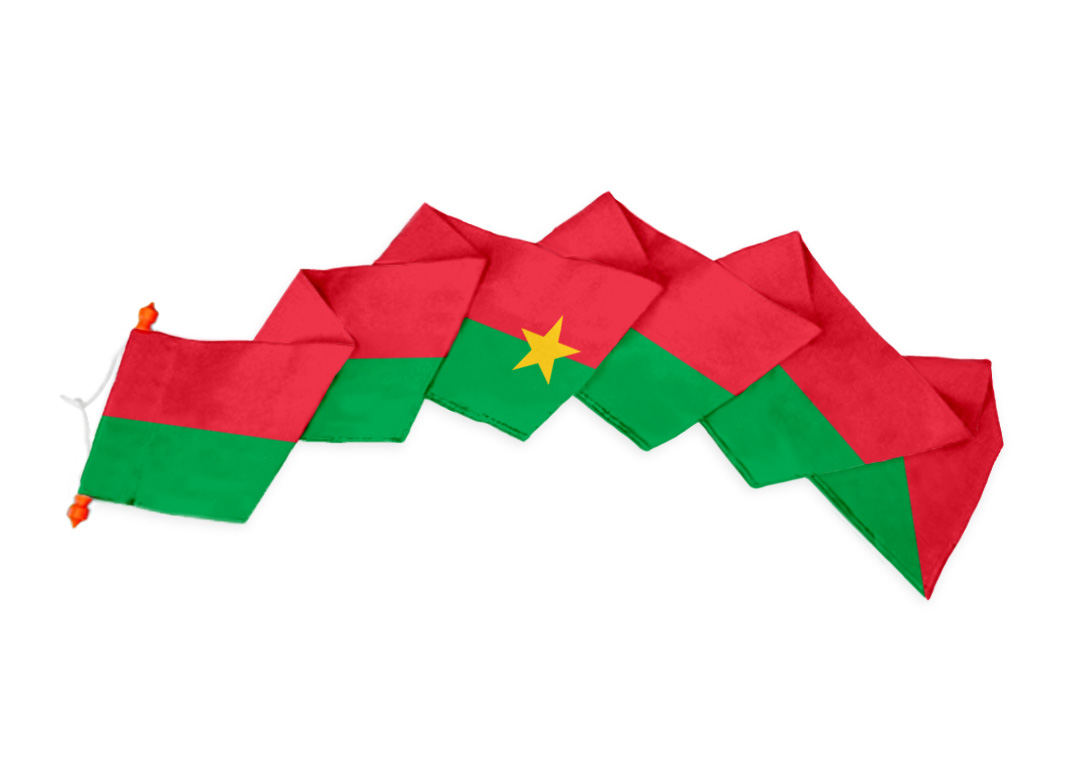 Wimpel Burkina Faso