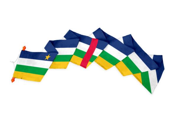 Wimpel Centraal Afrikaanse Republiek
