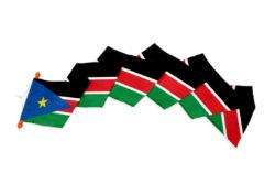 Wimpel Zuid Soedan