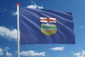Vlag van Alberta