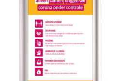A3 corona poster
