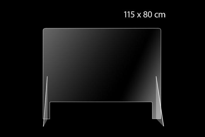Plexiglas scherm ter preventie corona