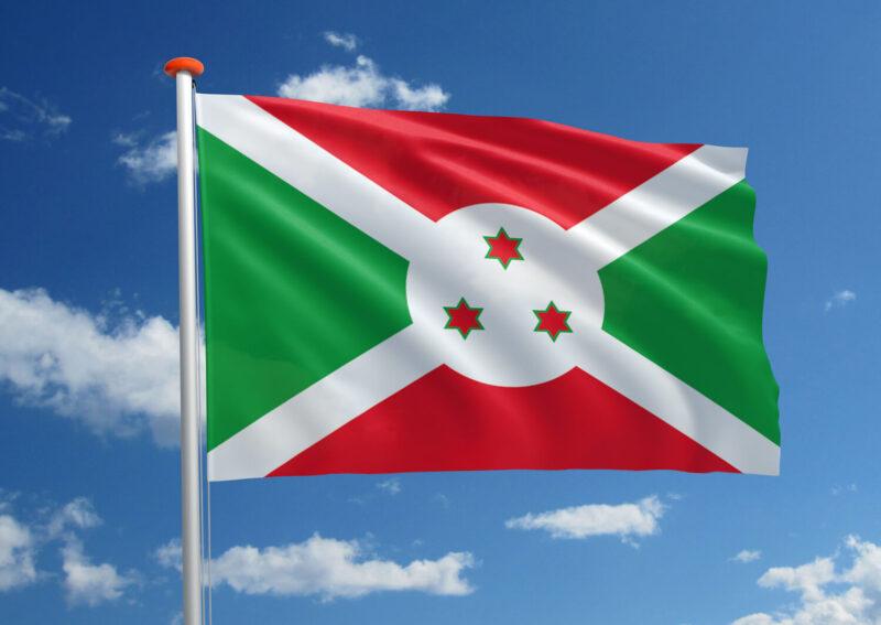 Vlag van Burundi