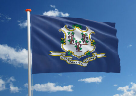 Vlag van Connecticut