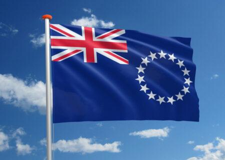 Vlag van de Cookeilanden