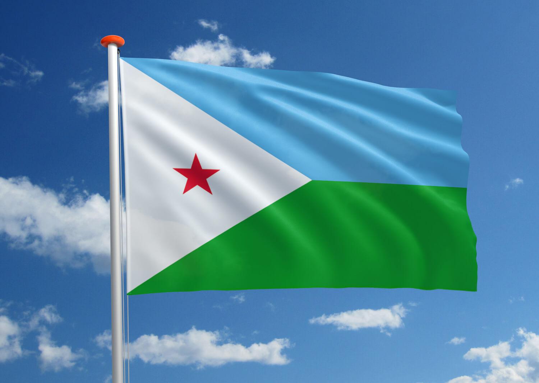Vlag van Djibouti