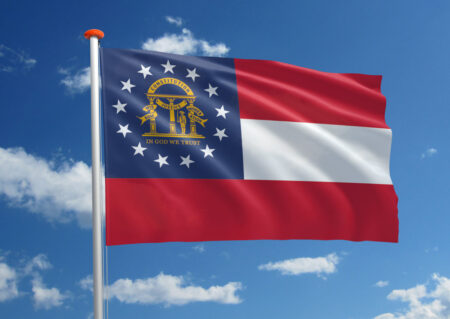 Vlag van Georgia