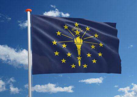 Vlag van Indiana