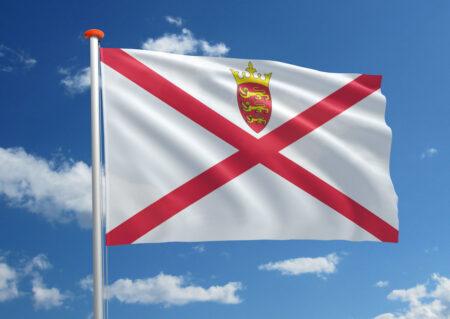 Vlag van Jersey