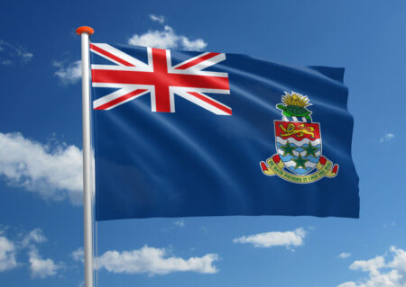 Vlag van de Kaaimaneilanden