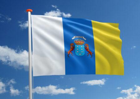 Vlag van de Canarische Eilanden