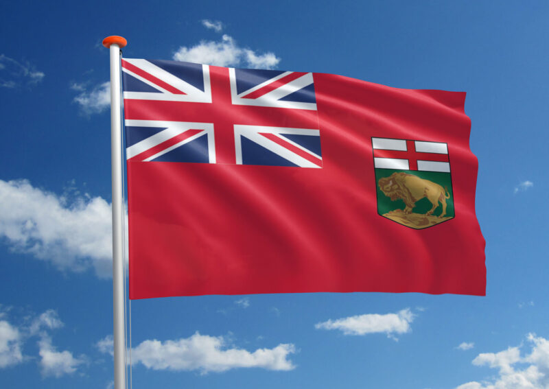 Vlag van Manitoba