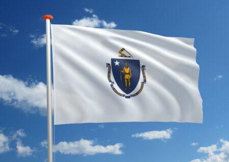 Vlag van Massachusetts