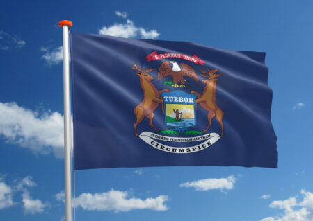 Vlag van Michigan