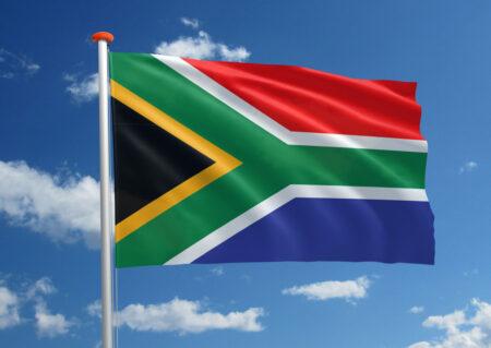 Vlag van Zuid-Afrika